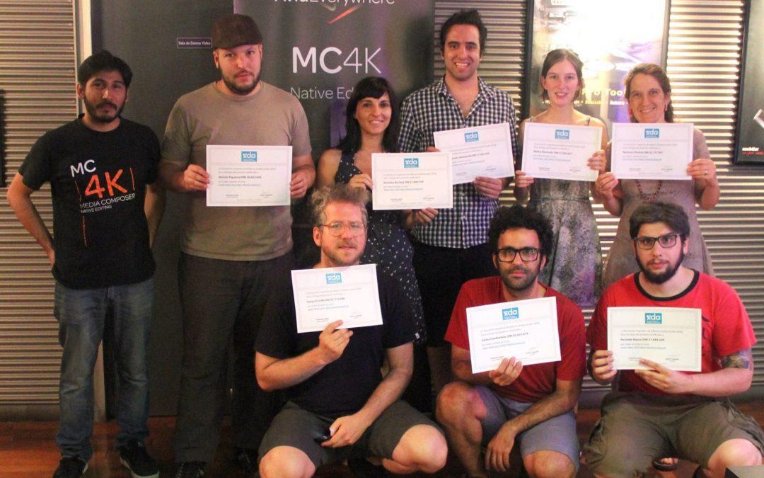 Finalizó el último curso de Avid Media Composer en SVC del año
