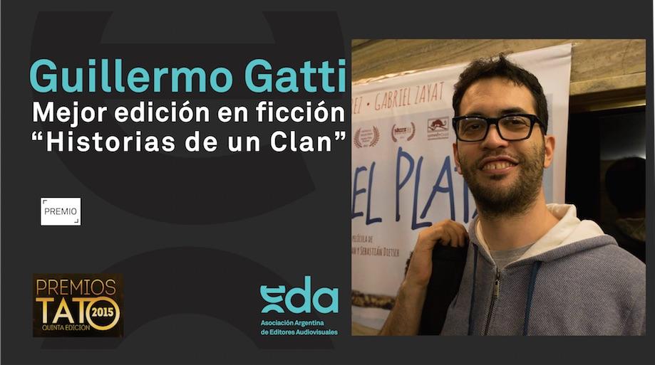 Guille Gatti: Mejor edición en ficción