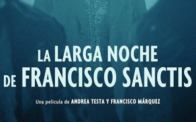 """El montaje de """"La larga noche de Francisco Sanctis"""""""