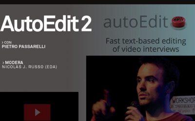 Presentación de autoEdit 2 en Buenos Aires