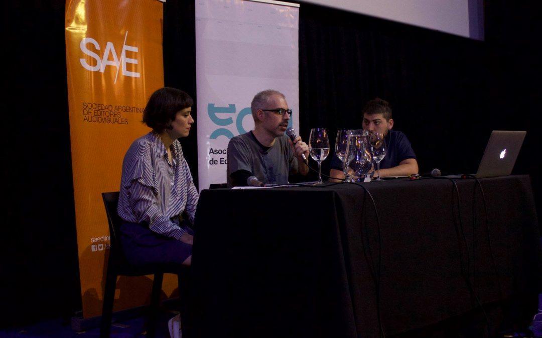 Se realizó la charla «Edición y Cine Independiente» en el (20) BAFICI