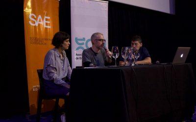 """Se realizó la charla """"Edición y Cine Independiente"""" en el (20) BAFICI"""