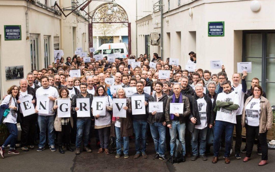 Se realizó una huelga en Francia de montajistas, sonidistas y artistas de foley