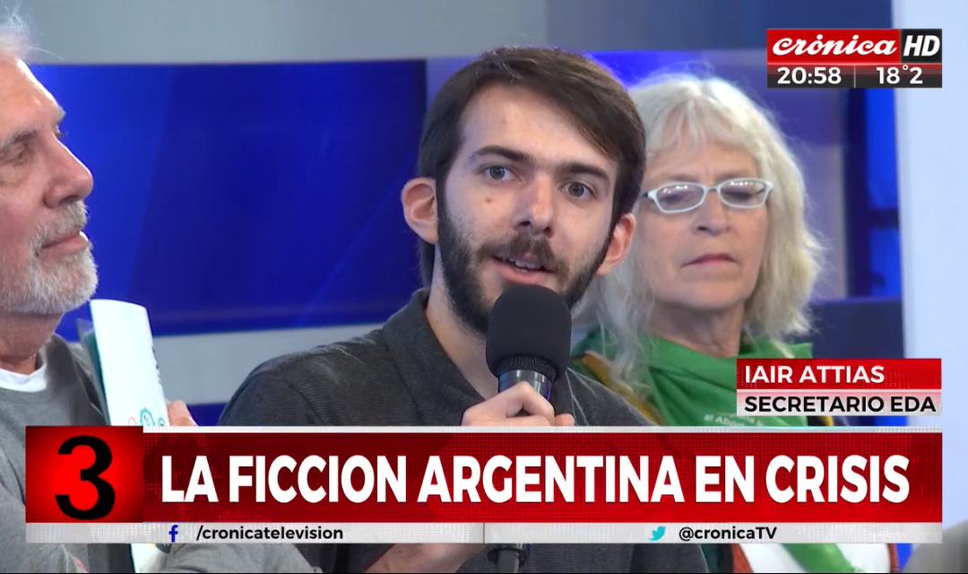 «Informe EDA: 2012-2017» en Crónica TV