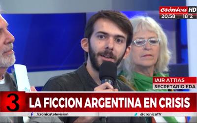 """""""Informe EDA: 2012-2017"""" en Crónica TV"""