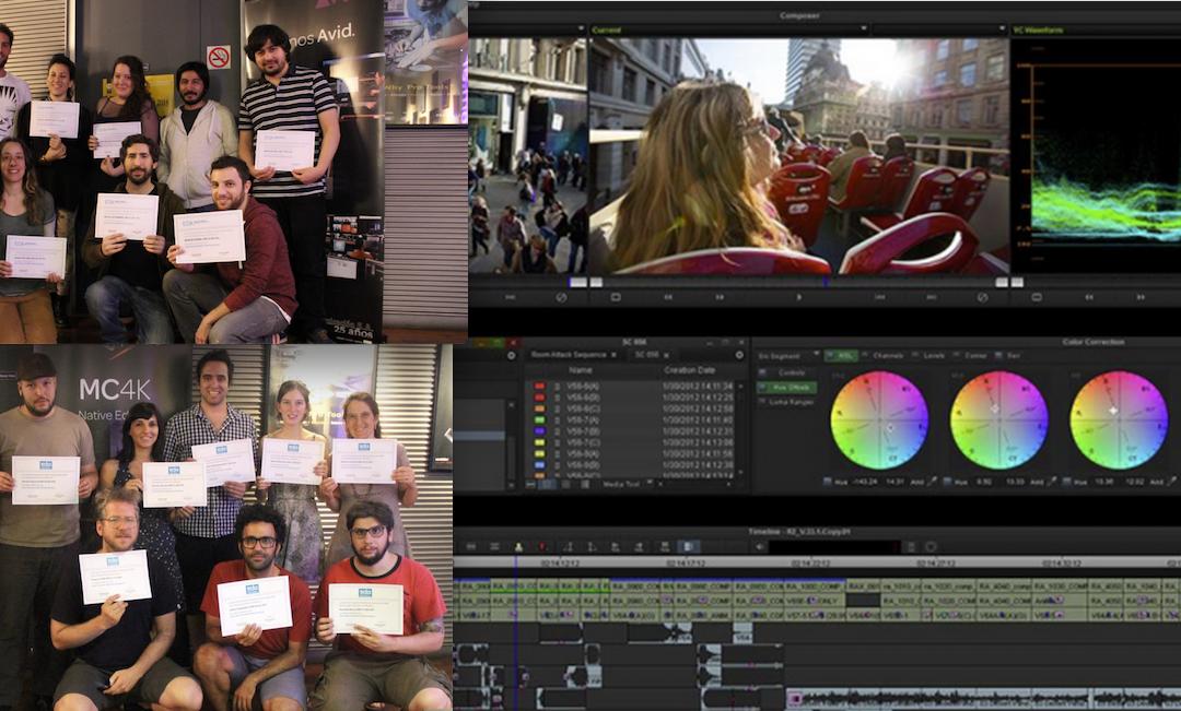 Se realizó un nuevo curso de Avid Media Composer en SVC