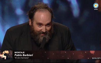 Pablo Barbieri (SAE-EDA) ganó el 66˚Cóndor de Plata a Mejor Montaje