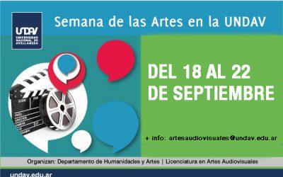 Semana de las Artes en la Licenciatura en Artes Audiovisuales