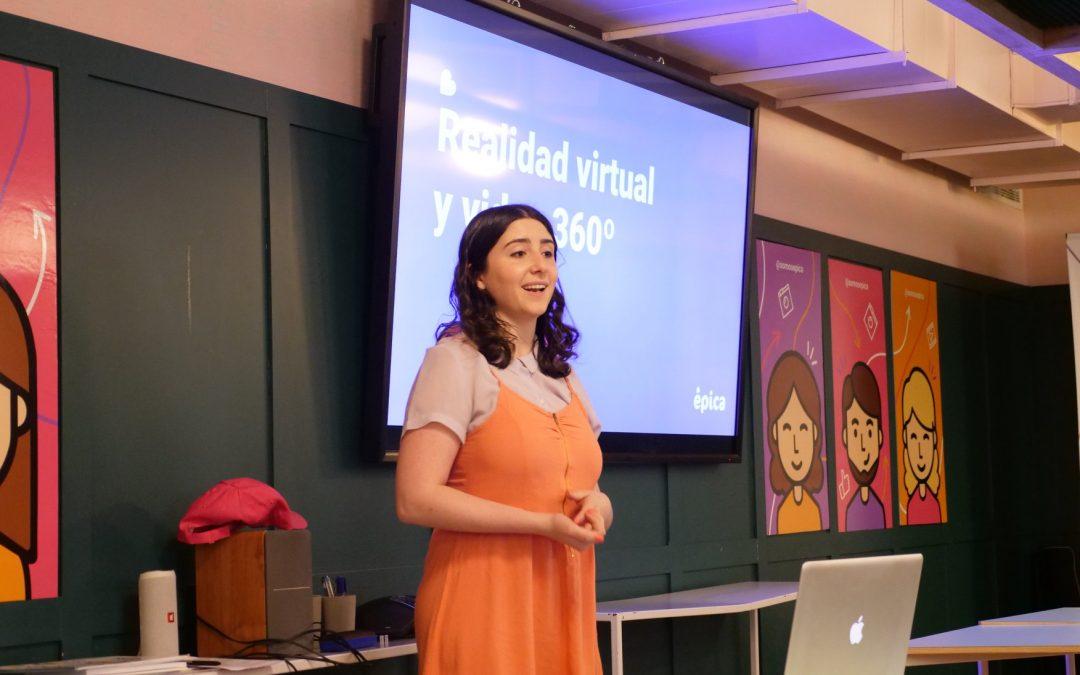 Taller de introducción a la Realidad Virtual y 360º