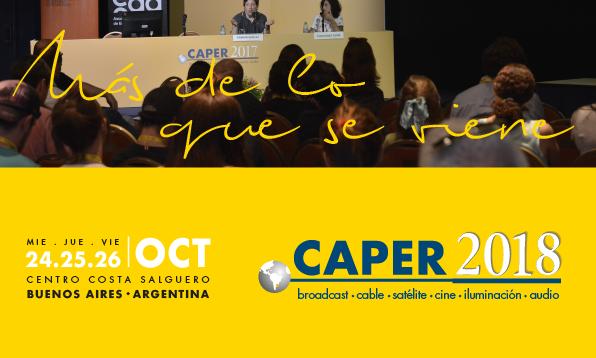 Mesa redonda en la CAPER 2018: «La edición en la industria audiovisual nacional»