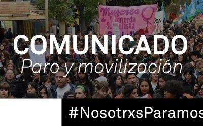 Documento del FAF -Frente Audiovisual Feminista #8M