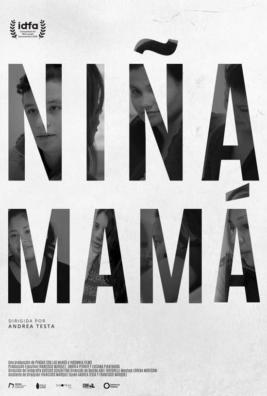 afiche pelicula - niña mama